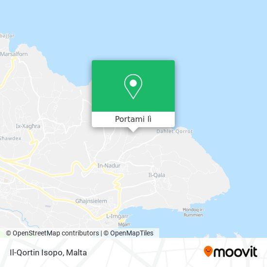 Mappa Il-Qortin Isopo
