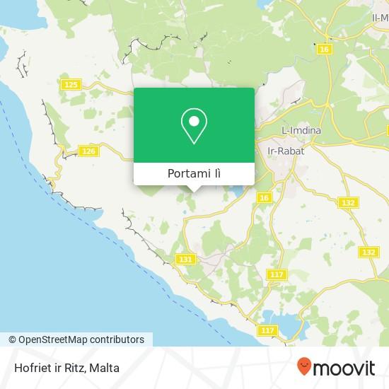 Mappa Hofriet ir Ritz
