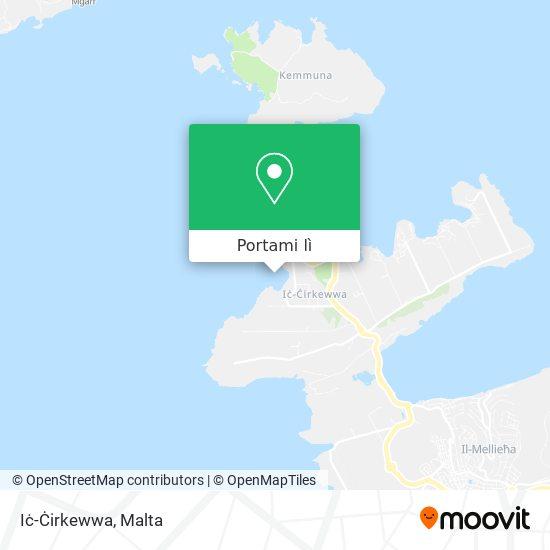 Mappa Iċ-Ċirkewwa