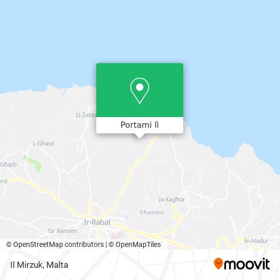 Mappa Il Mirzuk