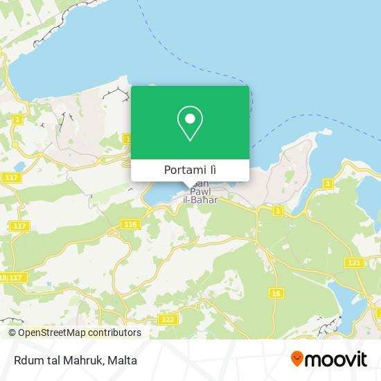 Mappa Rdum tal Mahruk