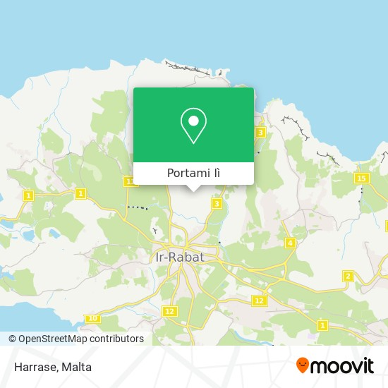 Mappa Harrase