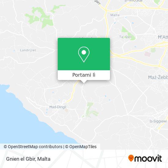 Mappa Gnien el Gbir