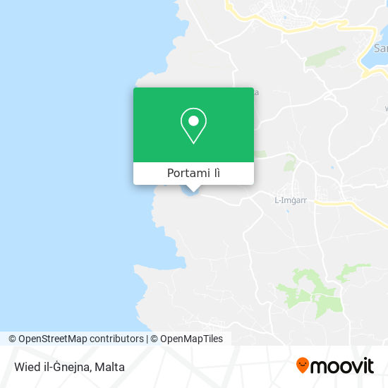 Mappa Wied il-Ġnejna