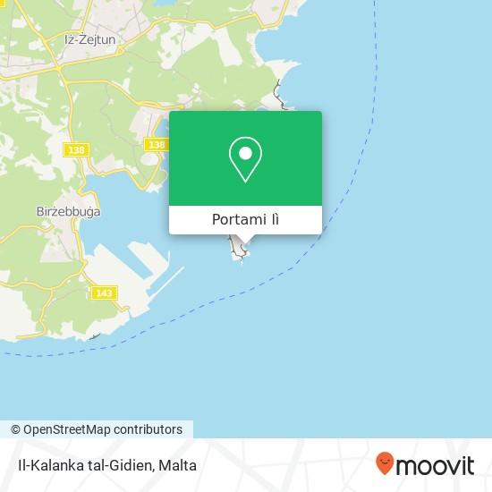 Mappa Il-Kalanka tal-Gidien
