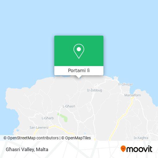 Mappa Għasri Valley