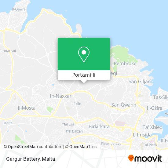 Mappa Gargur Battery