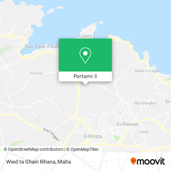 Mappa Wied ta Ghain Rihana