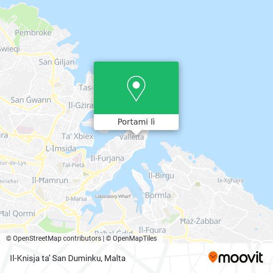 Mappa Il-Knisja ta' San Duminku
