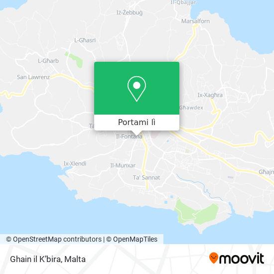 Mappa Ghain il K'bira