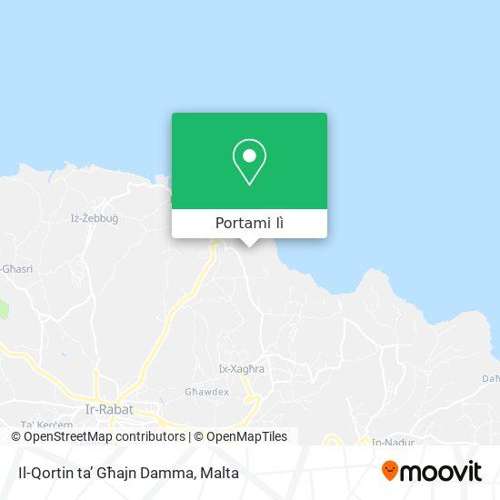 Mappa Il-Qortin ta' Għajn Damma