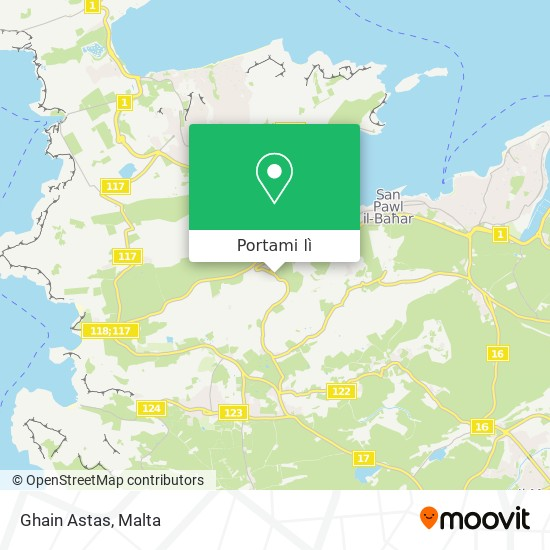 Mappa Ghain Astas