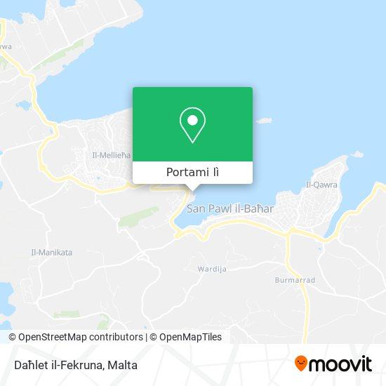 Mappa Daħlet il-Fekruna