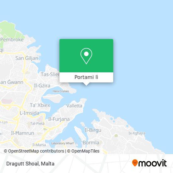 Mappa Dragutt Shoal