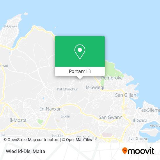 Mappa Wied id-Dis