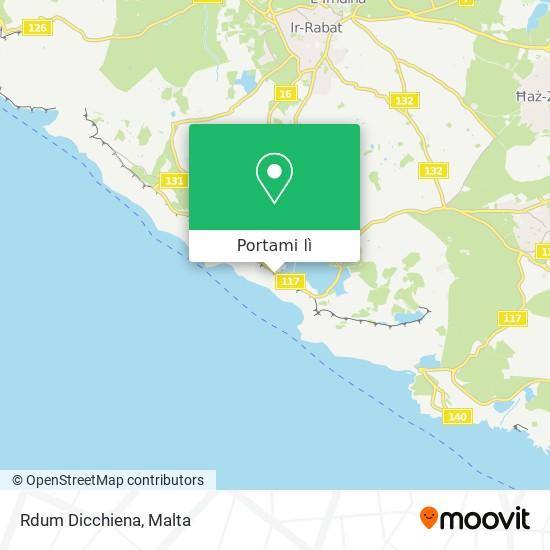 Mappa Rdum Dicchiena