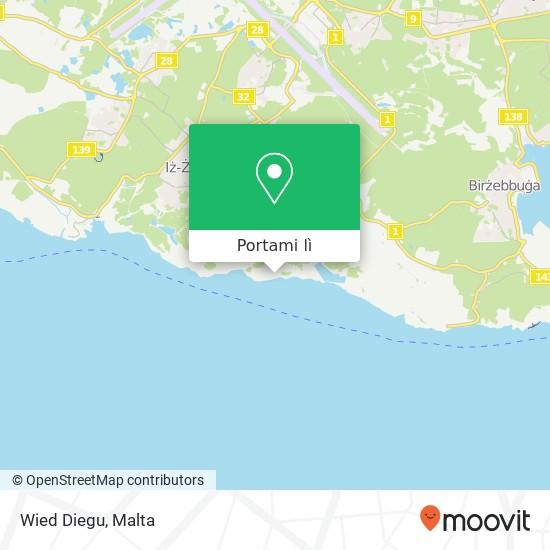 Mappa Wied Diegu