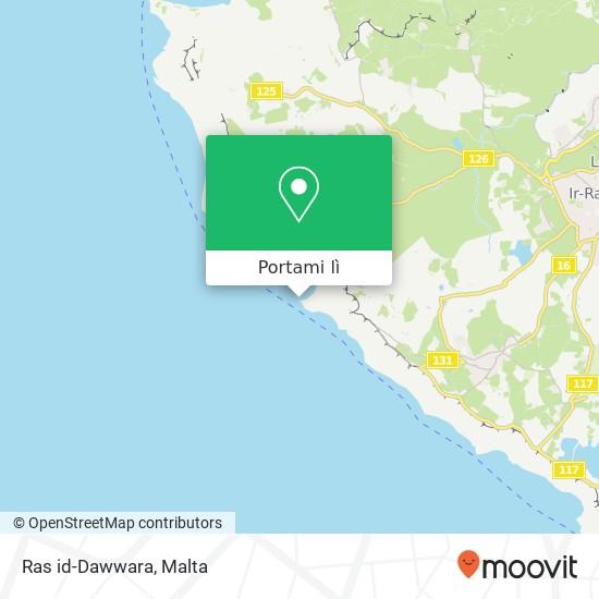 Mappa Ras id-Dawwara