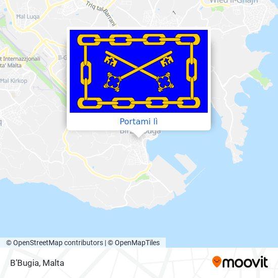 Mappa B'Bugia