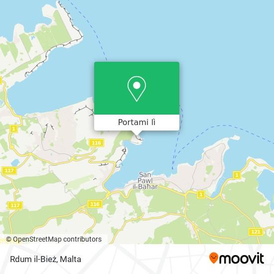 Mappa Rdum il-Bież