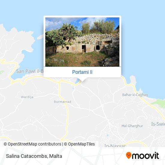 Mappa Salina Catacombs