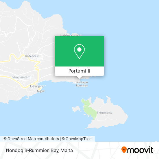 Mappa Ħondoq ir-Rummien Bay