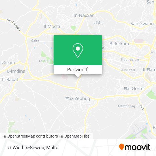 Mappa Ta' Wied Is-Sewda