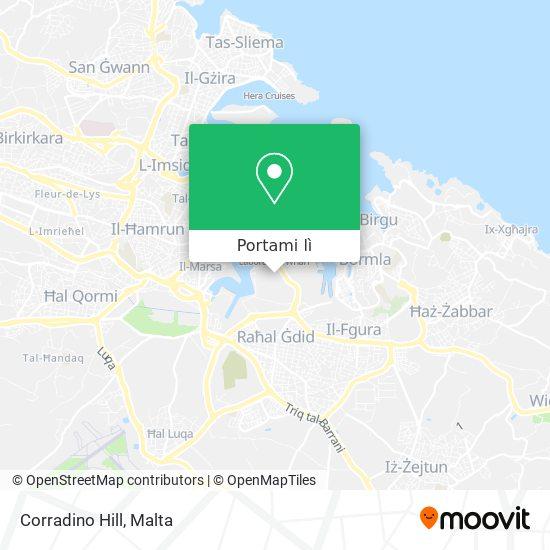 Mappa Corradino Hill