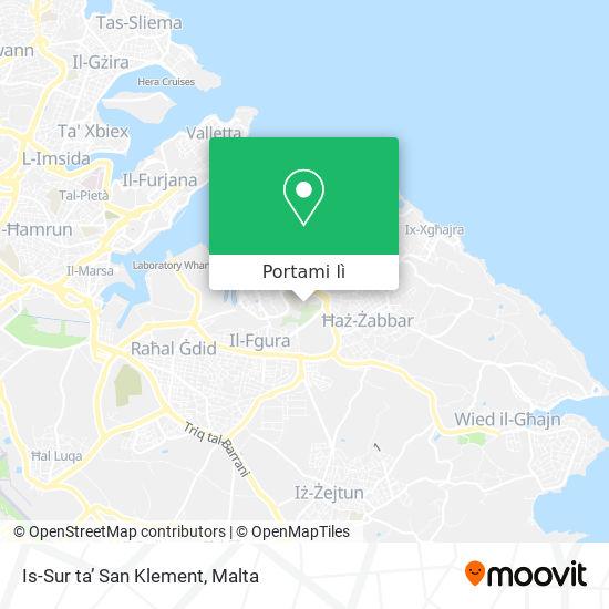 Mappa Is-Sur ta' San Klement