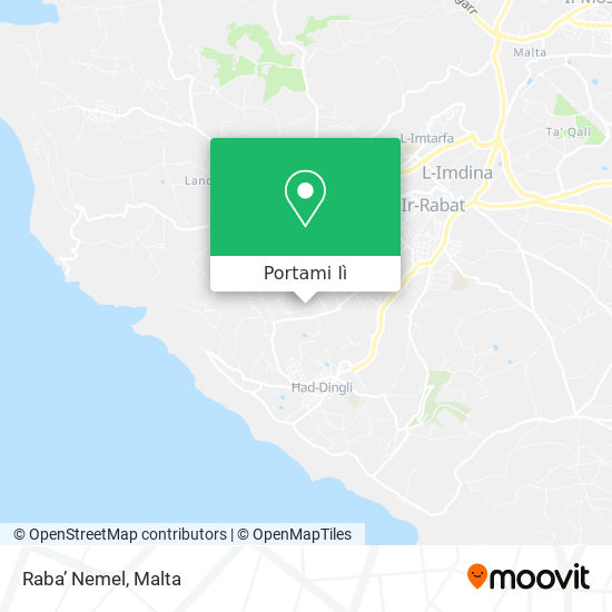 Mappa Raba' Nemel
