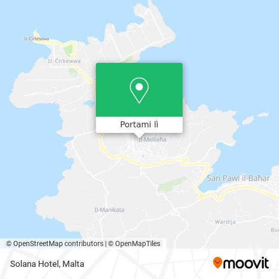 Mappa Solana Hotel