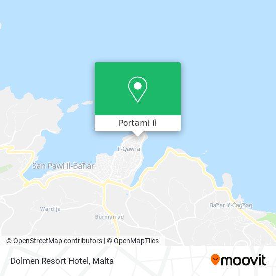 Mappa Dolmen Resort Hotel