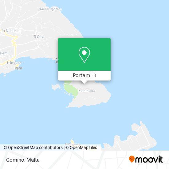 Mappa Comino