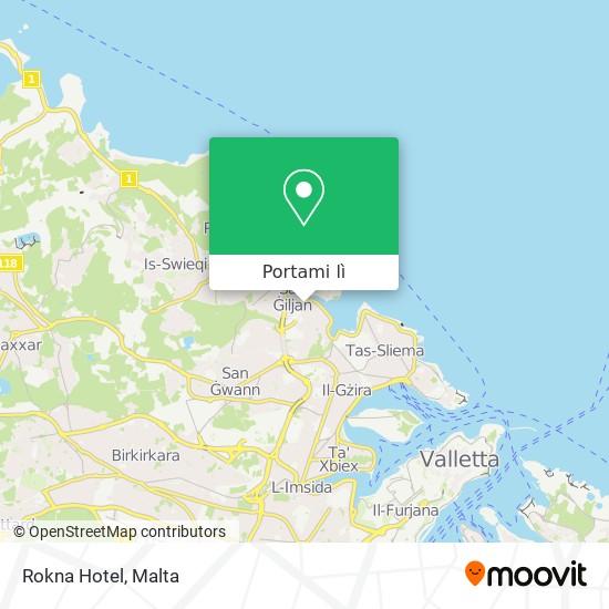 Mappa Rokna Hotel