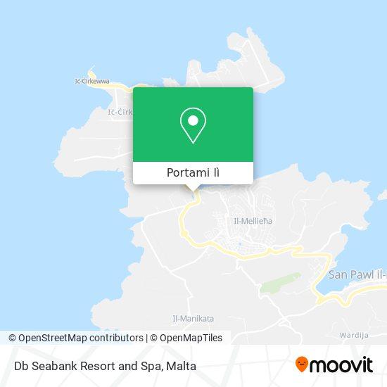 Mappa Db Seabank Resort and Spa