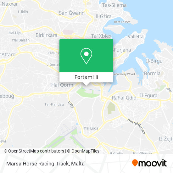 Mappa Marsa Horse Racing Track