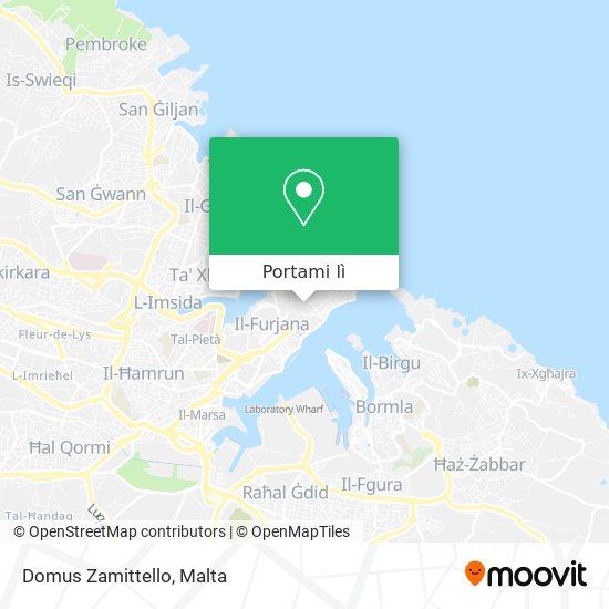 Mappa Domus Zamittello