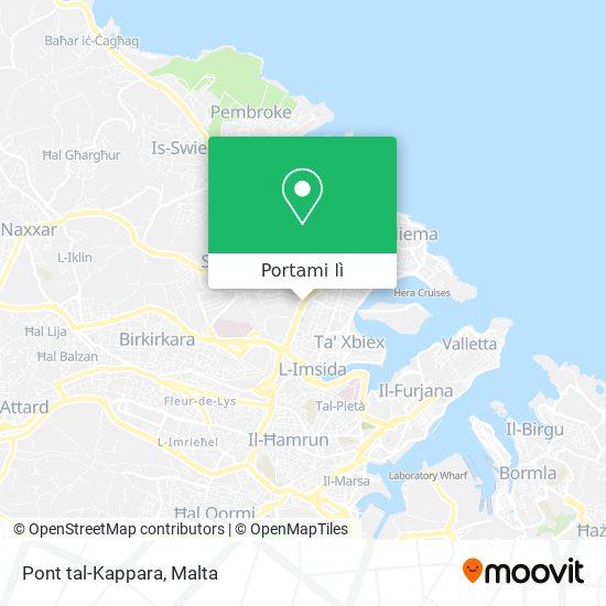 Mappa Pont tal-Kappara