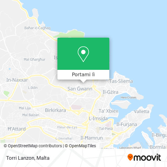 Mappa Torri Lanzon
