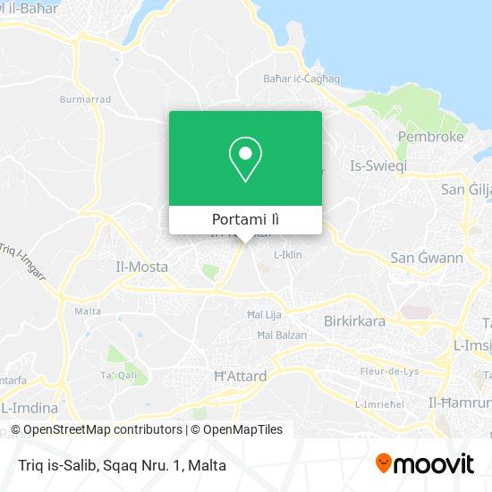 Mappa Triq is-Salib, Sqaq Nru. 1