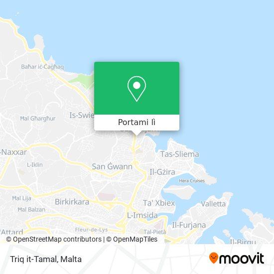 Mappa Triq it-Tamal