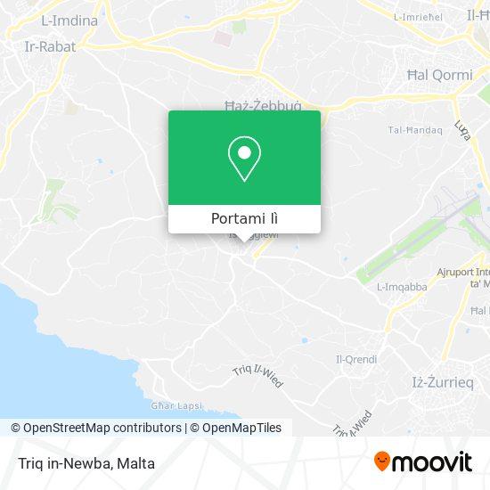 Mappa Triq in-Newba