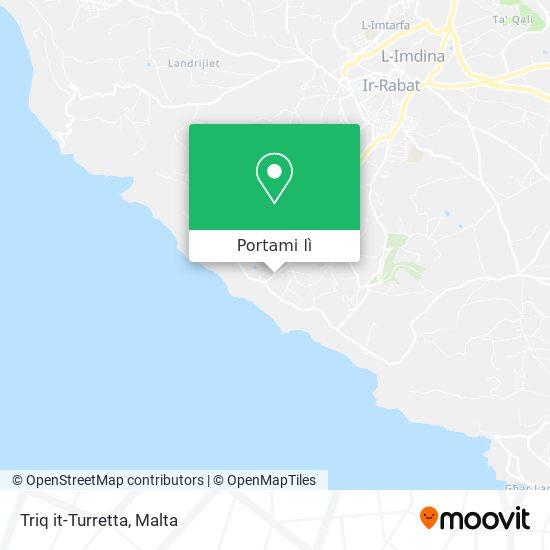 Mappa Triq it-Turretta