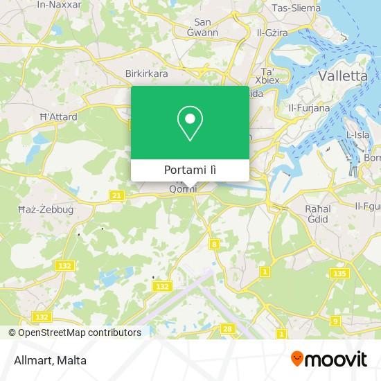 Mappa Allmart