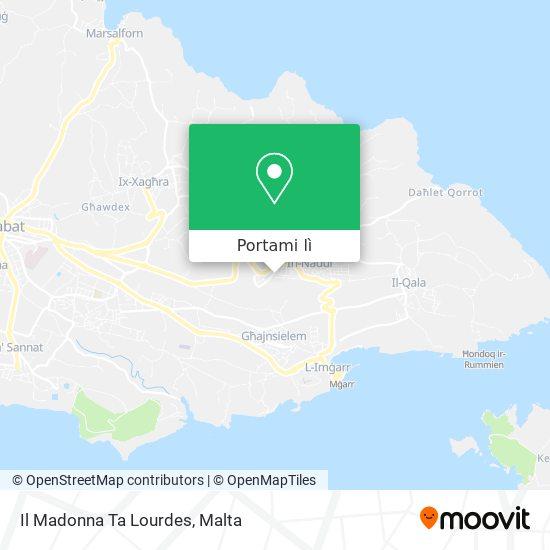 Mappa Il Madonna Ta Lourdes