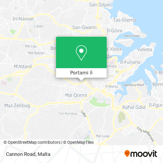 Mappa Cannon Road