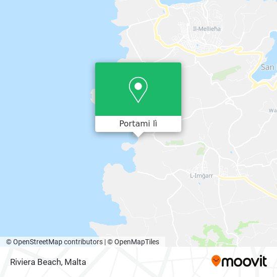 Mappa Riviera Beach