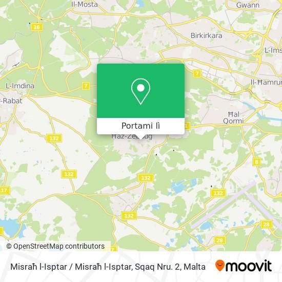 Mappa Misraħ l-Isptar / Misraħ l-Isptar, Sqaq Nru. 2
