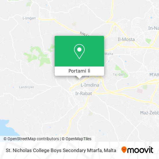 Mappa St. Nicholas College Boys Secondary Mtarfa