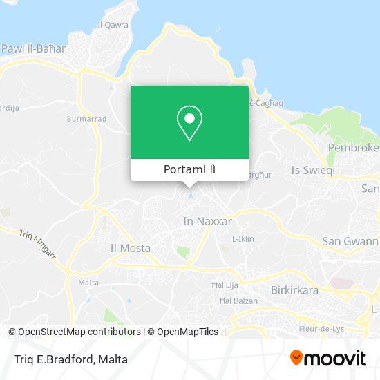 Mappa Triq E.Bradford
